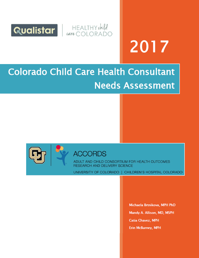 Early Childhood Research Needs Update >> Early Childhood Education Research Healthy Child Care Colorado