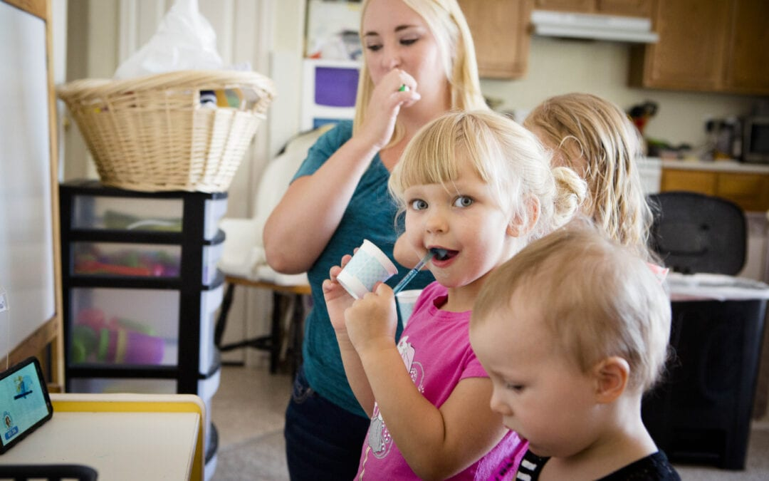 Tooth Brushing in Child Care Settings: It can be done!